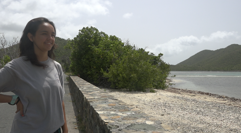 Virgin Islands VOICES: 15-year-old Liliana Martinez helps her STJ community after storms