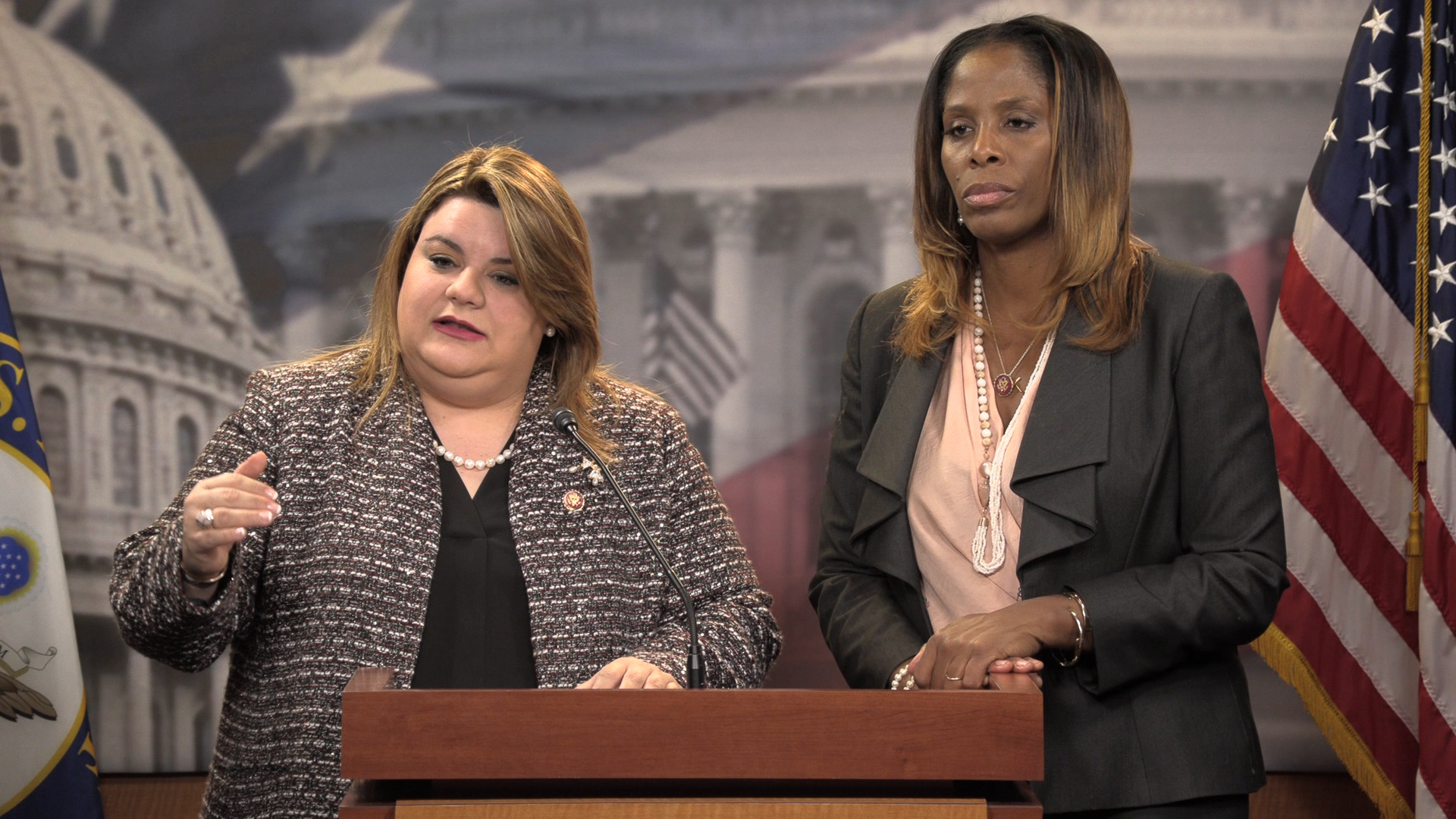 Plaskett, Gonzalez-Colon aim to lift Medicaid funding cap for U.S. territories