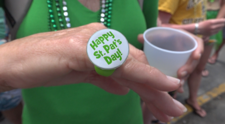 Smallest St. Patrick's Day parade draws crowds in St. John