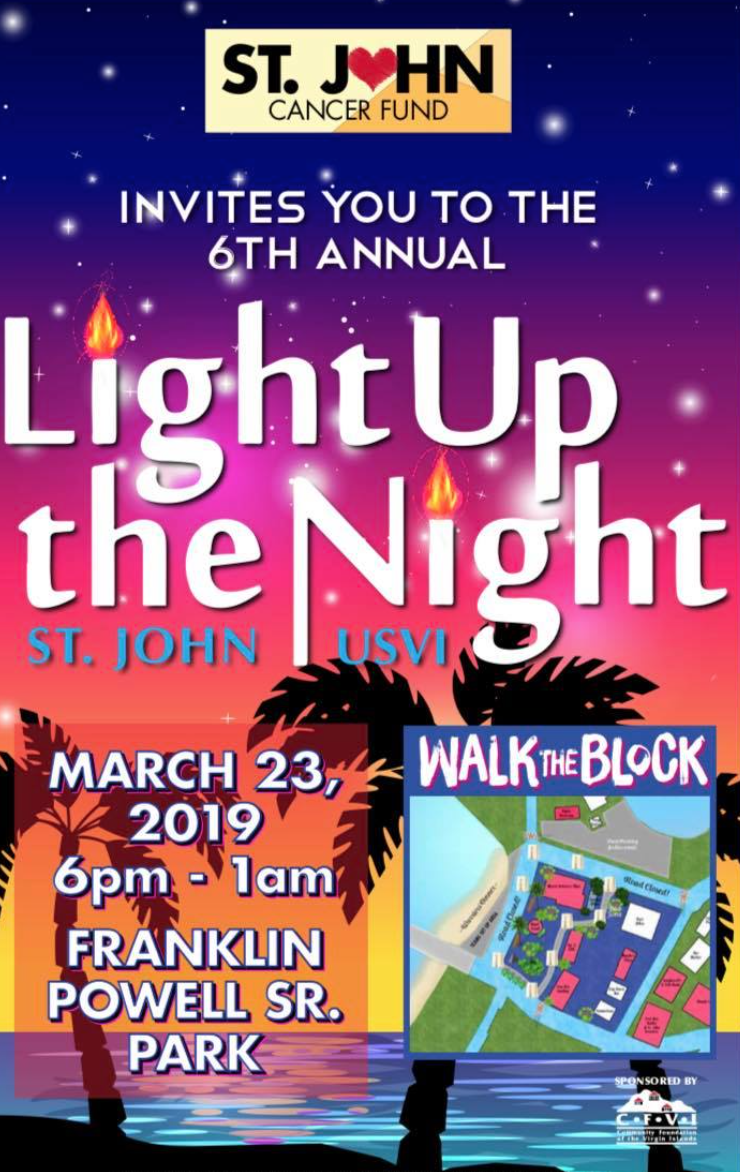 St. John prepares to 'light up the night' for those fighting cancer