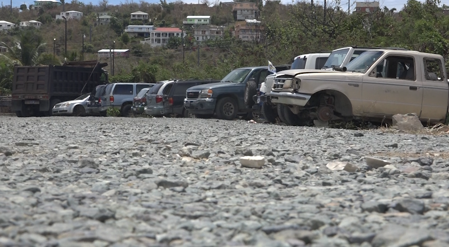Local government steps in to remove cars in St. John lot