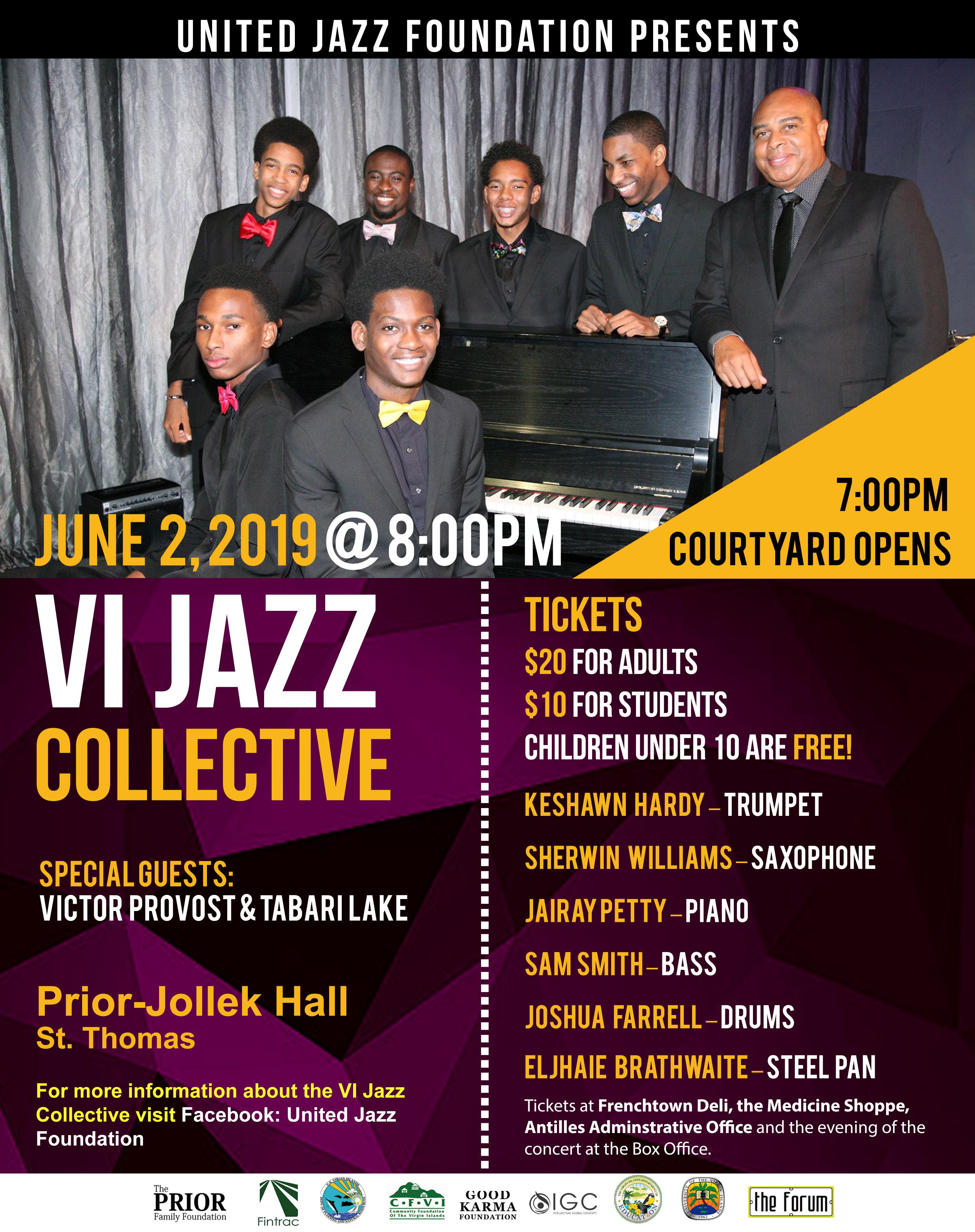 VI Jazz Collective kicks off tour