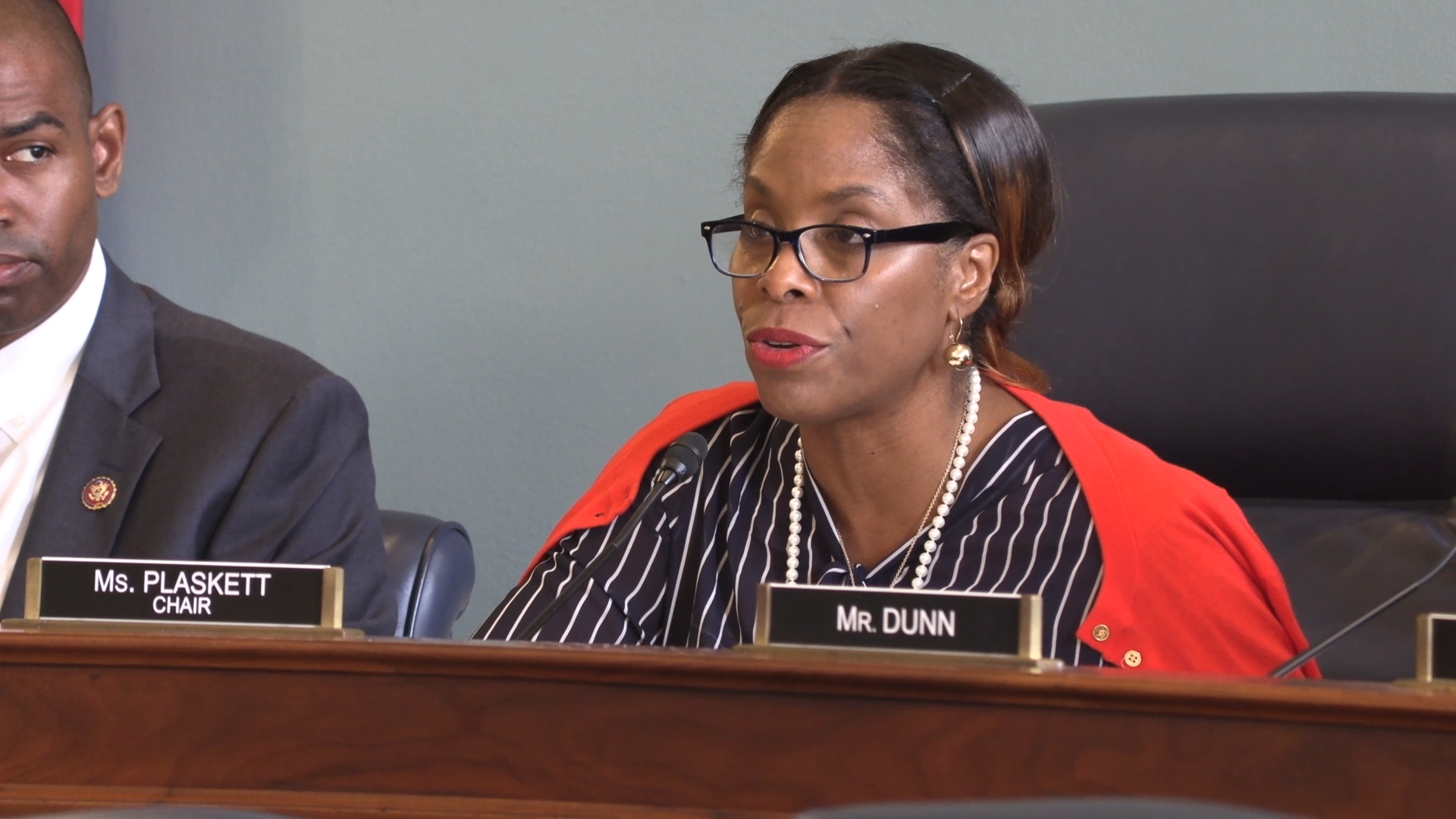Plaskett chairs first subcommittee hearing