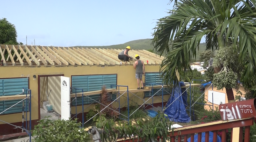St. Thomas non profit continues work on roofs 20 months after Irma
