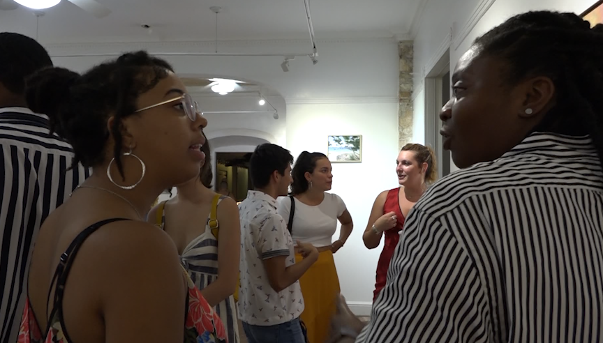 Millennials mix and mingle at monthly gathering in St. Croix