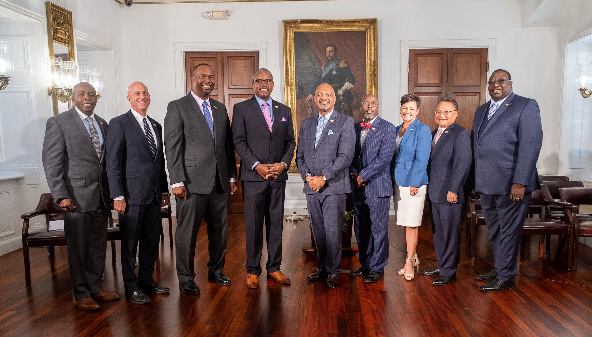 Gov. Bryan Hosts Final Swearing-in Ceremony for Last Seven Cabinet Members