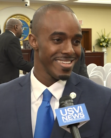 Senator Javon James Responds to Governor's State of the Territory Address