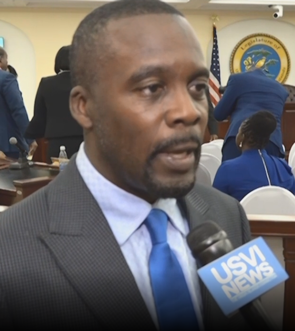 Senator Marvin Blyden Responds to Governor's State of the Territory Address