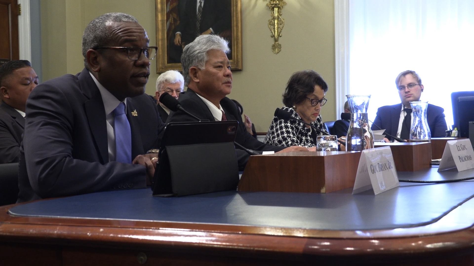 Gov. Bryan testifies on Capitol Hill, wraps up week in D.C.