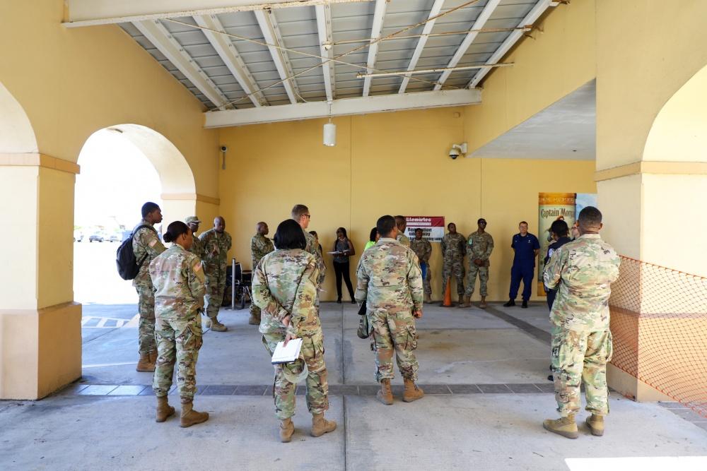 VI National Guard Assisting with Screenings at VI Airports