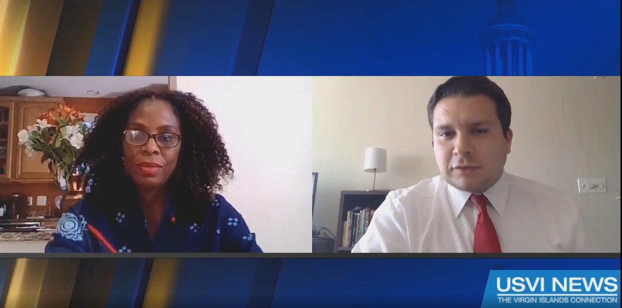Capital Connection: Plaskett Talks on Coronavirus Relief