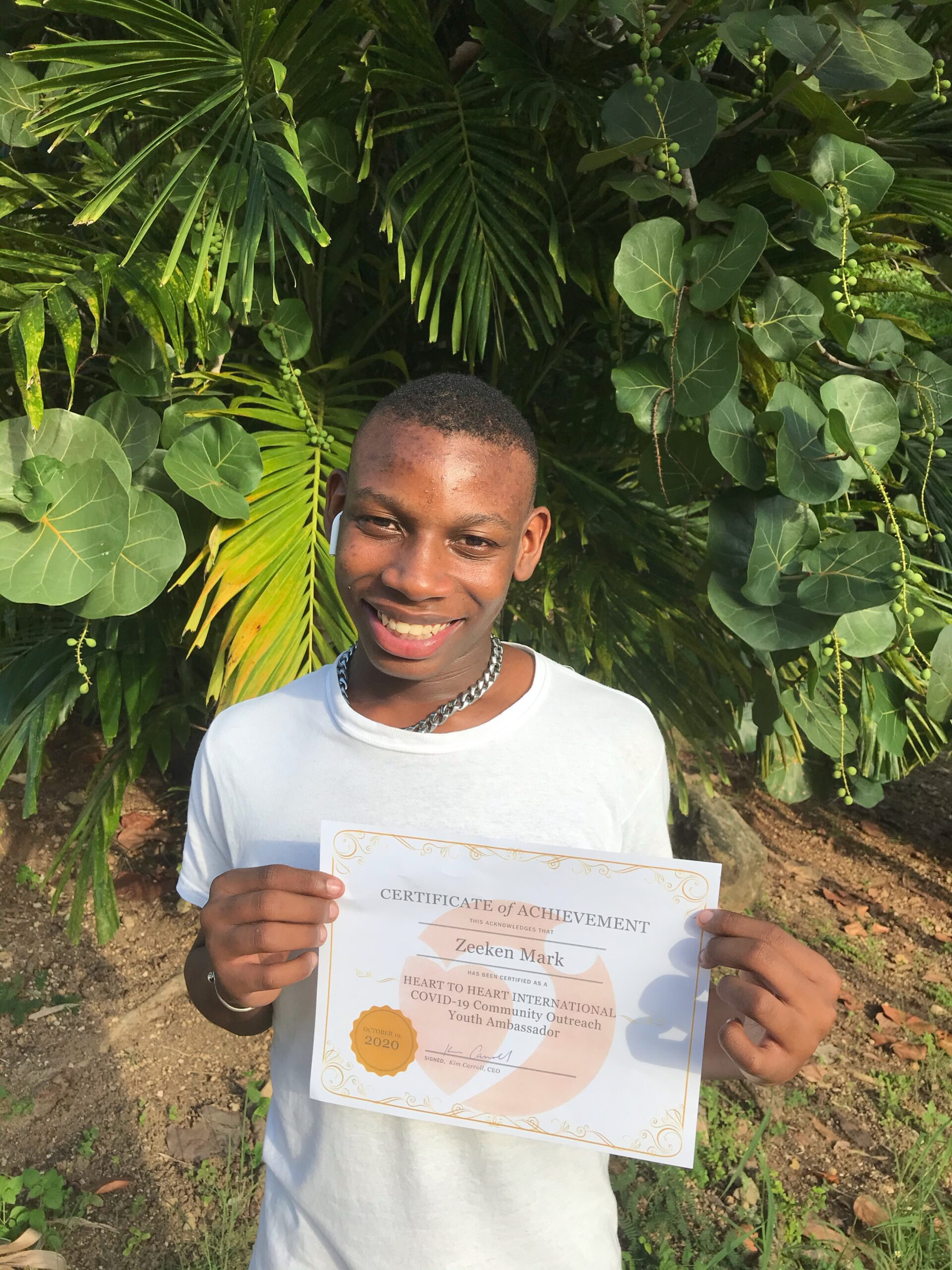 Project Promise Caterpillars Become Certified Covid-19 Youth Ambassadors